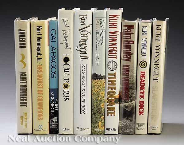 0653: First Edition, Signed Kurt Vonnegut Books