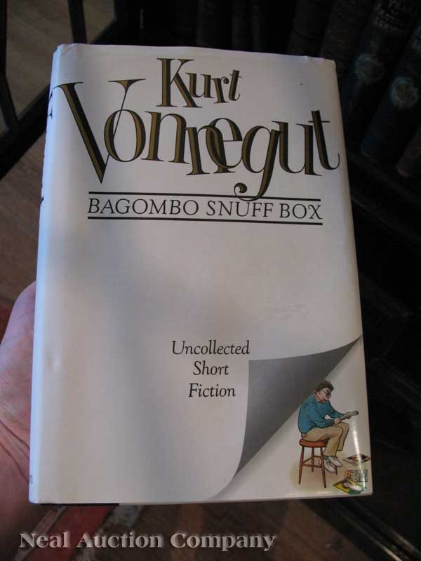 0653: First Edition, Signed Kurt Vonnegut Books - 2