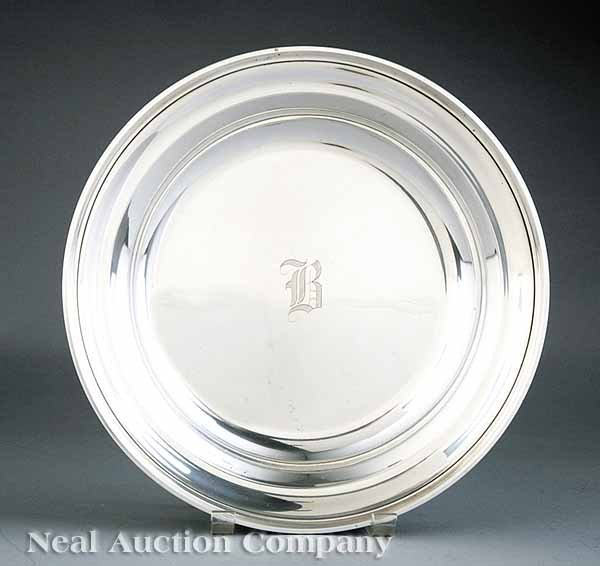0685: Gorham Sterling Silver Circular Dish