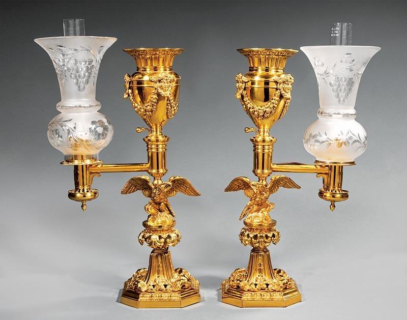 Messenger & Sons Argand Lamps