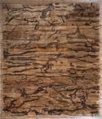 Modern Handwoven Bamboo Carpet