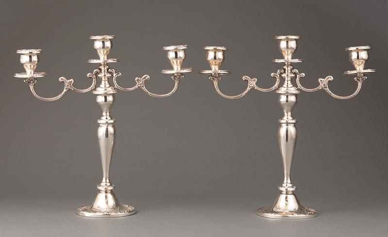 Gorham Sterling Silver Candelabra