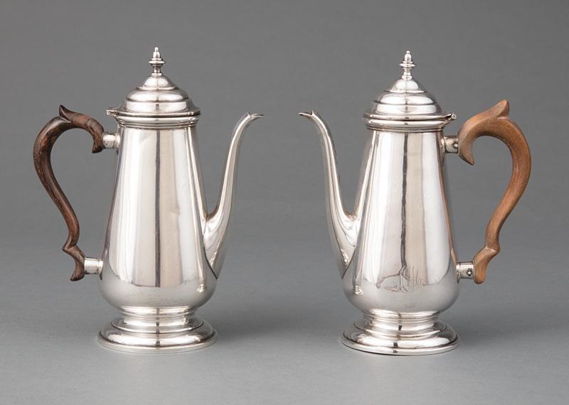 Sterling Silver Miniature Coffee Pots
