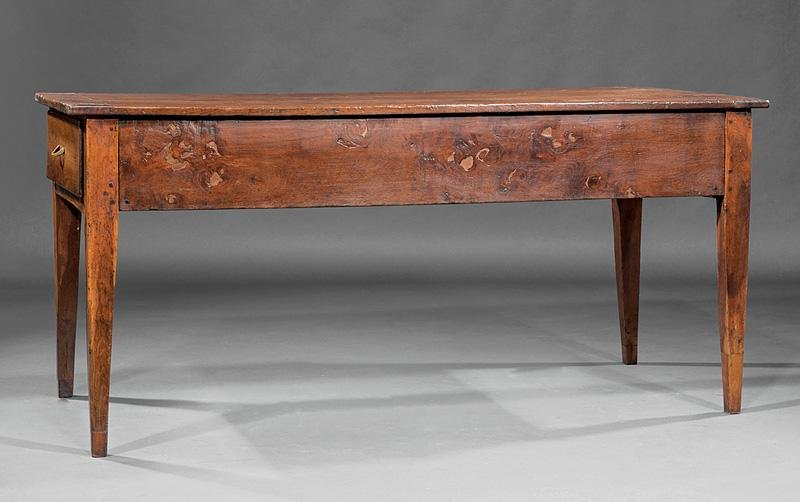French Provincial Carved Walnut Table