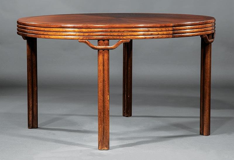 American Mahogany Extension Dining Table