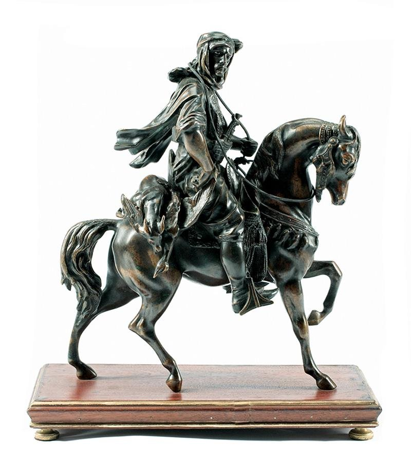 Patinated Bronze Figural Group