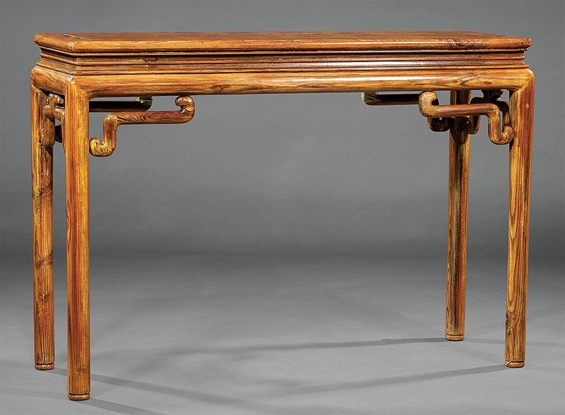 Chinese Carved Wood Altar Table
