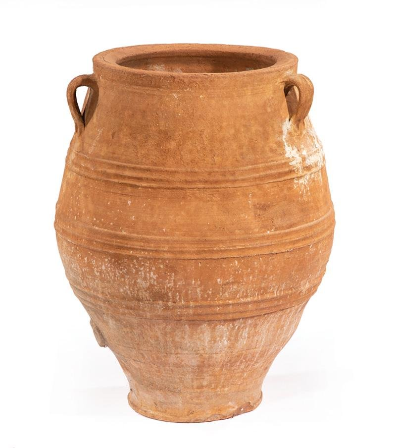 Large Continental Olive Jar