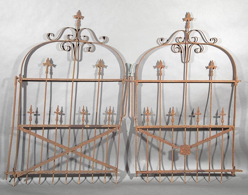 American Wrought Iron Garden Gates