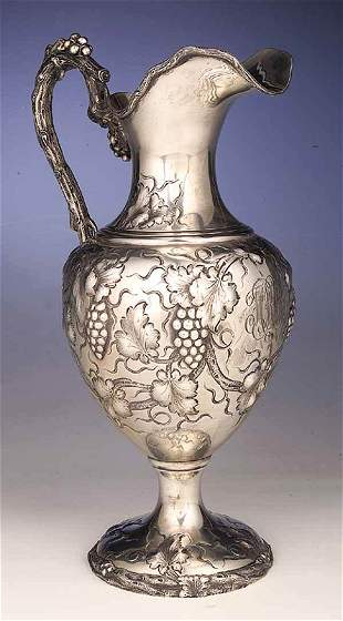 An American Victorian Sterling Silver