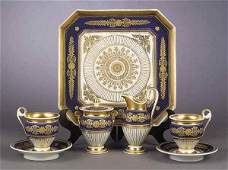 0144 A Paris Porcelain Coffee Service in th