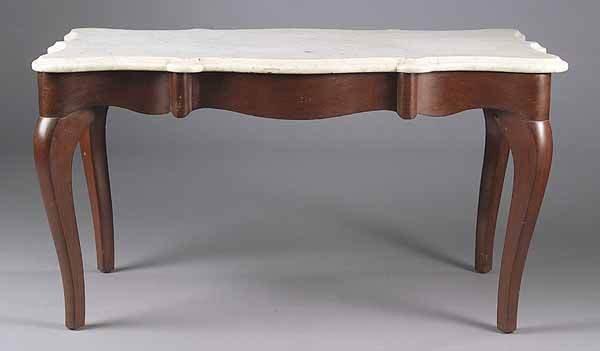 0791: A Louis XV-Style Mahogany Low Table