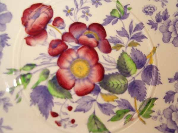 "0973: A Copeland Spode ""Mayflower"" Pattern D - 10"