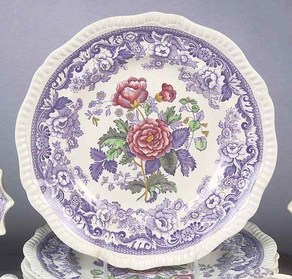 "0973: A Copeland Spode ""Mayflower"" Pattern D - 2"