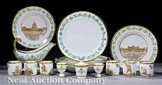 Paris Porcelain Partial Table Service