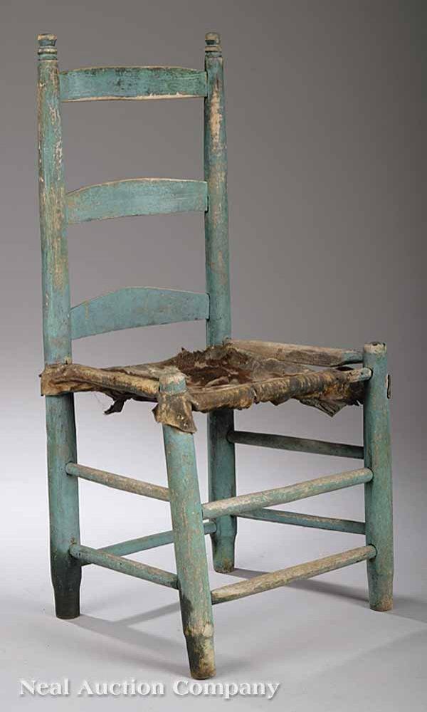 0693: Acadian Cypress Ladderback Side Chair