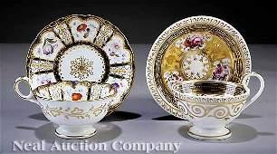 1024 Davenport Porcelain Tea Cup and Saucer