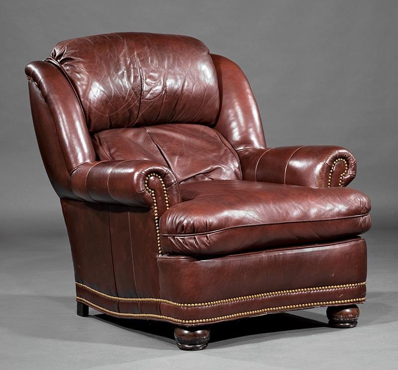 Hancock and Moore Leather Armchair