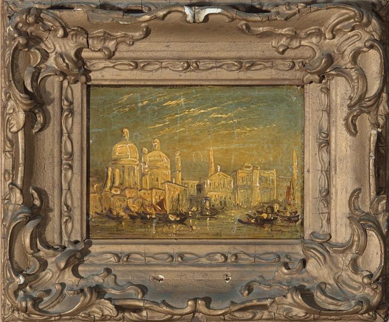 Decorative Venetian River Scene