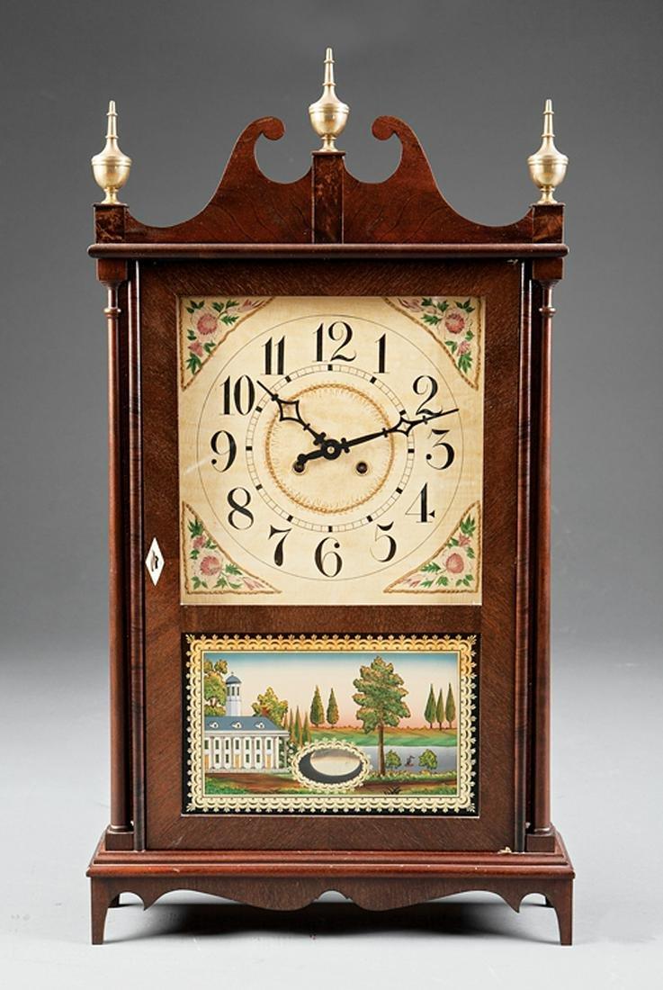 Two American Shelf Clocks