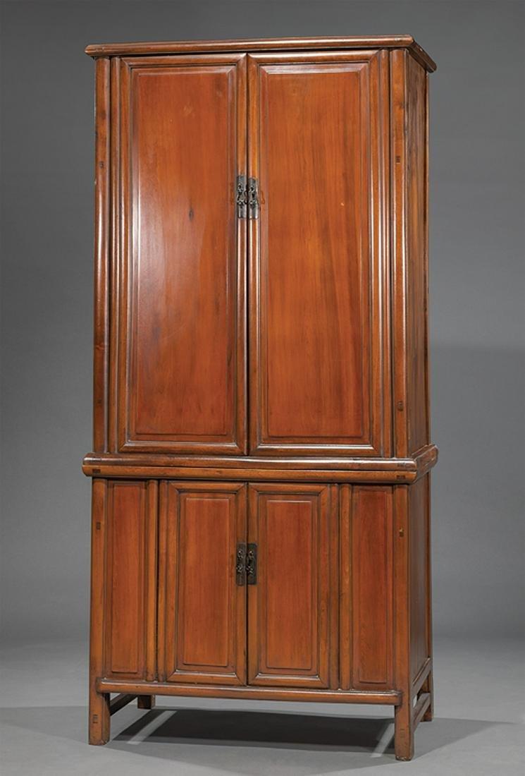 Asian Hardwood Cabinet