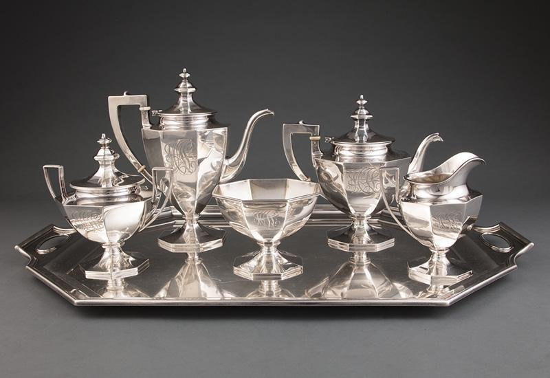 Gorham Sterling Coffee and Tea Service