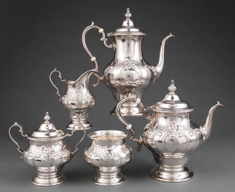 Gorham Sterling Silver Coffee/Tea Serv.