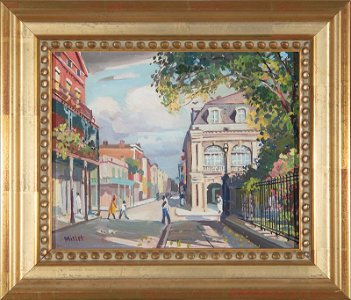 Clarence Millet (American/New Orleans)