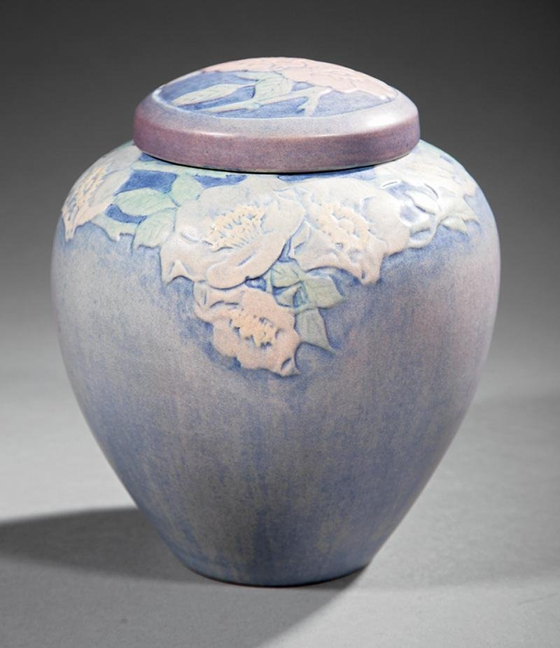 Newcomb College Art Pottery Lidded Jar