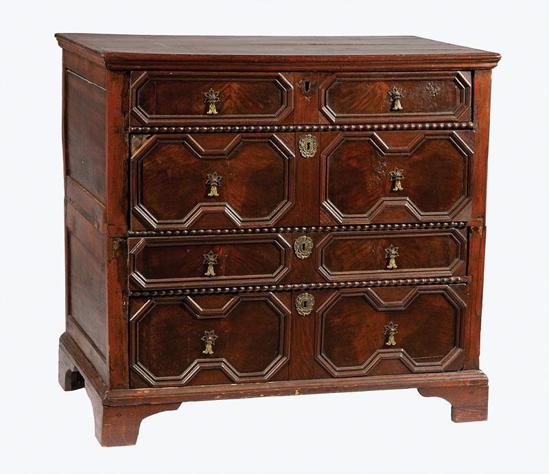 William & Mary Walnut Chest of Drawers