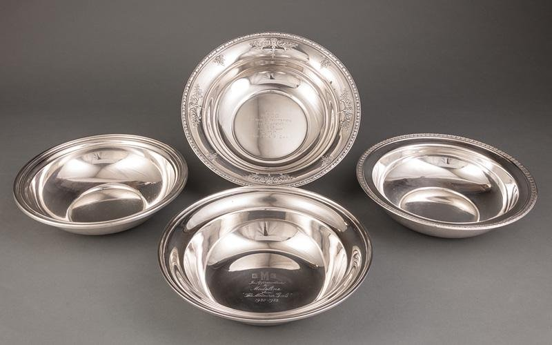Sterling Silver Serving Bowls