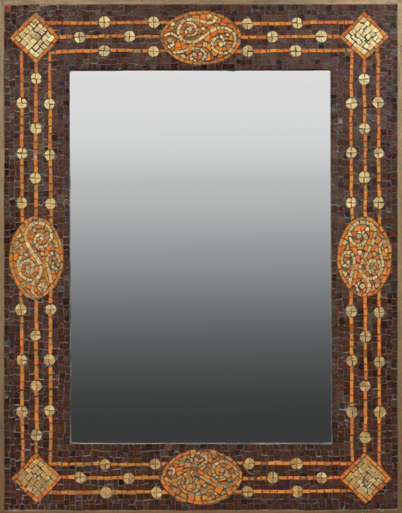 Spanish Contemporary Mosaic Mirror