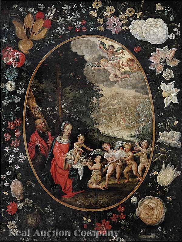 2: Netherlandish or Spanish School, oil on panel