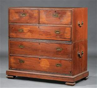 Anglo-Colonial Tropical Hardwood Campaign Chest