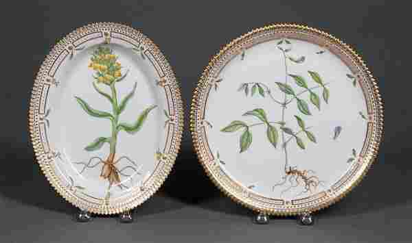 "Royal Copenhagen ""Flora Danica"" Dishes"