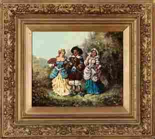 Charles A Janvier AmericanLouisiana 18321897
