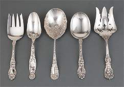 Group of American Sterling Silver Serving Pieces