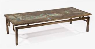 """Philip & Kelvin LaVerne """"Chin Ying"""" Coffee Table"""