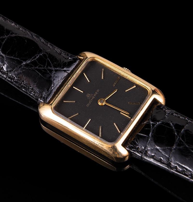 18 kt. Yellow Gold Bucherer Wristwatch