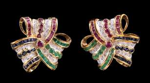 Gold, Ruby, Emerald, Sapphire, Diamond Jewelry