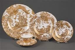 Royal Crown Derby Porcelain Dinner Service