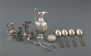 Sterling Silver Miniature Ecclesiastical Cruet