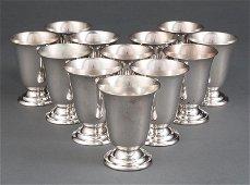 Redlich & Co. Sterling Silver Shot Glasses