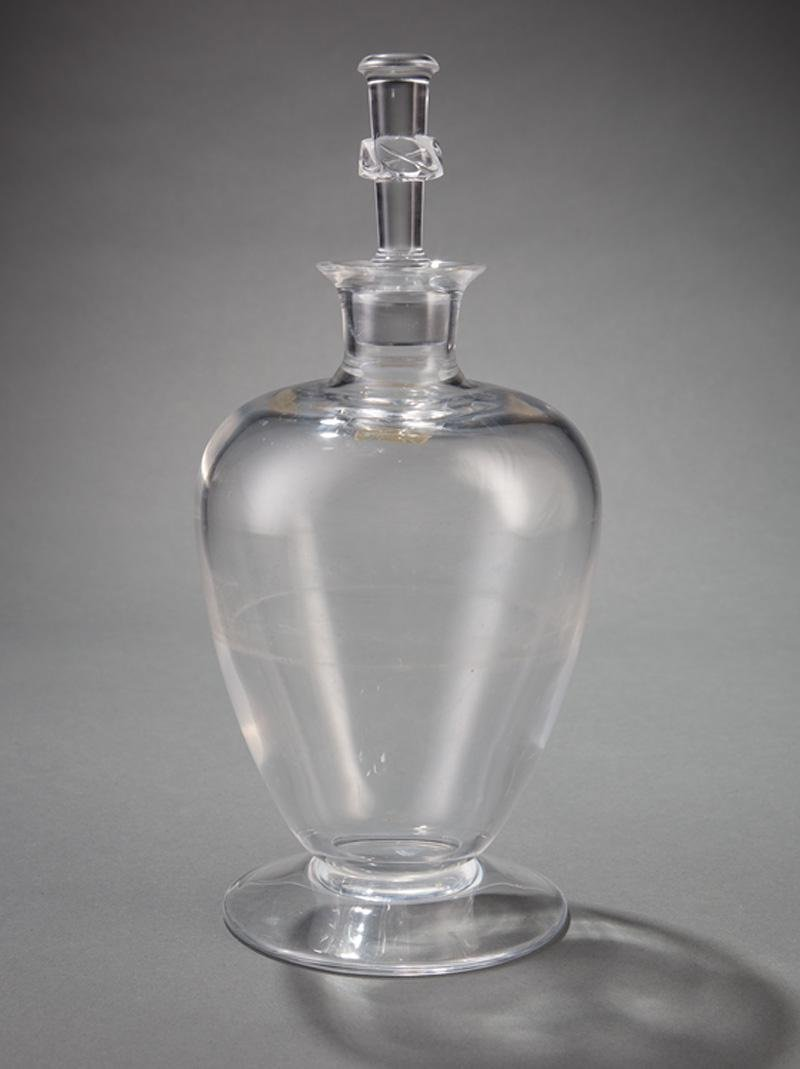 """Lalique Crystal """"Beaugency"""" Decanter"""