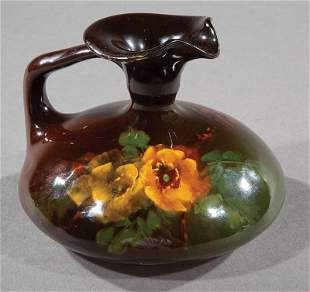 Weller Louwelsa Polychrome Pottery Ewer