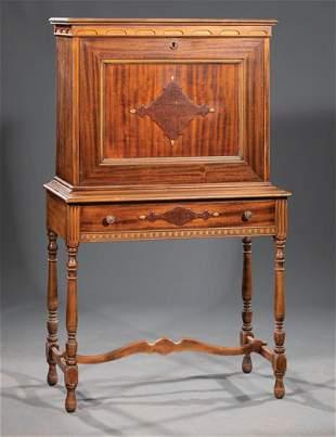 American Mahogany Fall-Front Desk
