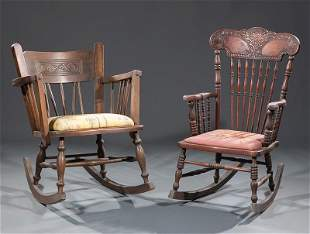 Two American Rocking Chairs