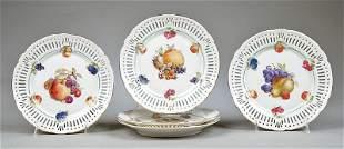 Schwarzenhammer orcelain Fruit Plates
