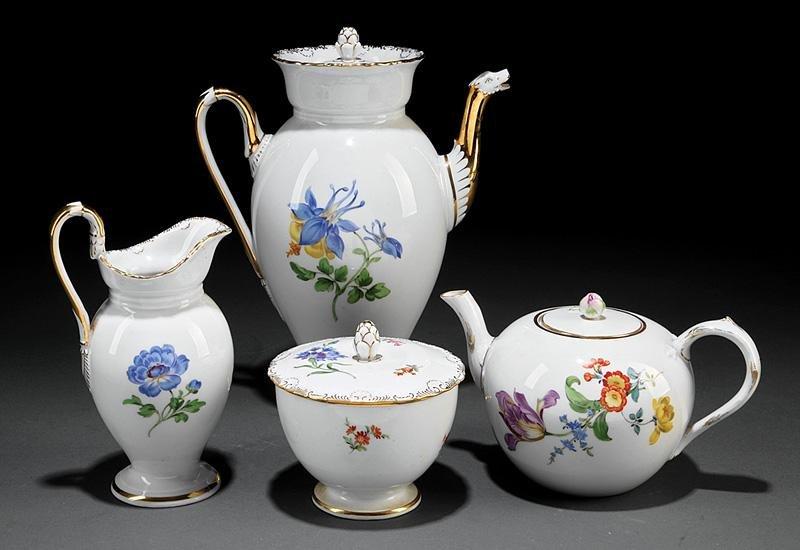 Meissen Porcelain Coffee and Tea Service