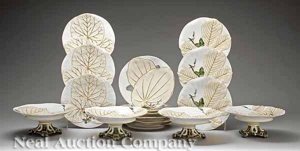 8: Limoges Porcelain Partial Dessert Service